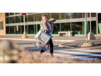 JetKids™ BedBox® - dětské zavazadlo s lůžkem, modré 4