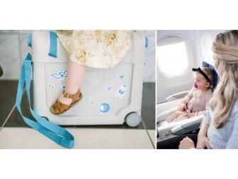 JetKids™ BedBox® - dětské zavazadlo s lůžkem, modré 5
