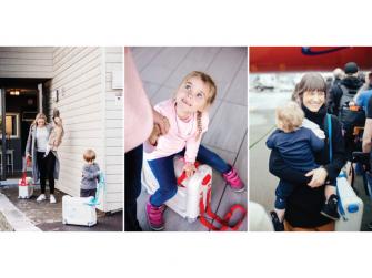JetKids™ BedBox® - dětské zavazadlo s lůžkem, modré 6