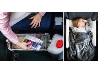 JetKids™ BedBox® - dětské zavazadlo s lůžkem, modré 7