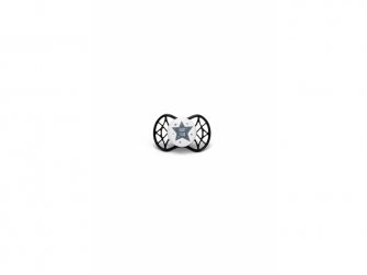 Ortodontický dudlík Cool 0m+, Iron black