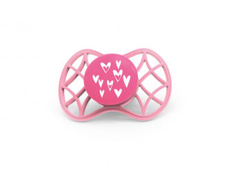 Fyziologický dudlík Cool 6m+, Pink Yarrow