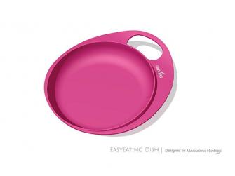 Talíř a miska, Pastel pink
