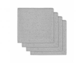 Plena 4 ks, Mini dots mist grey
