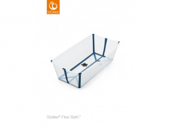 Skládací vanička Flexi Bath® X-Large, Transparent Blue