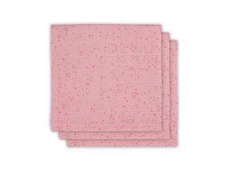 Ručníček 3ks - cena za balení, MINI DOTS BLUSH PINK