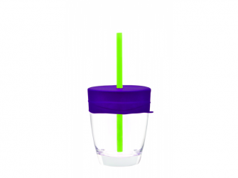 Univerzální silikonová víčka - fialová/zelená 4