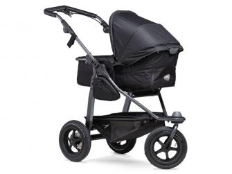 Mono combi pushchair - air wheel black