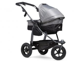 Mono combi pushchair - air wheel grey