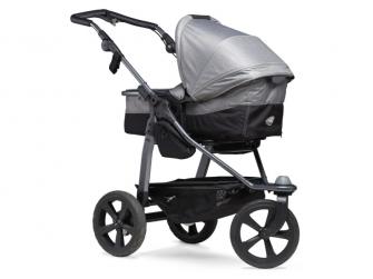 Mono combi pushchair - air chamber wheel grey