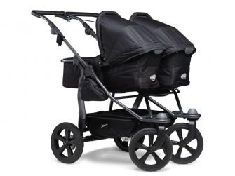 Duo combi push chair - air chamber wheel black