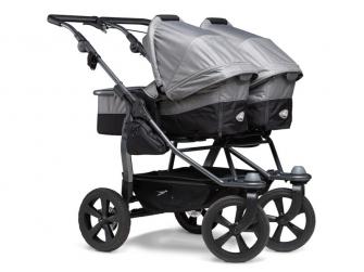 Duo combi push chair - air chamber wheel grey