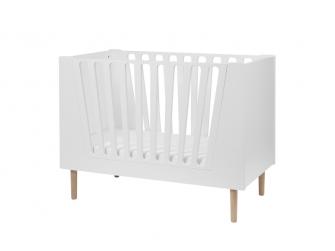 Dětská postýlka 60x120 cm - bílá 2