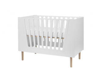 Dětská postýlka 60x120 cm - bílá