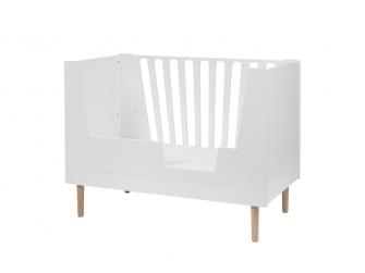 Dětská postýlka 60x120 cm - bílá 3