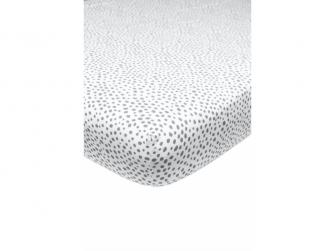 žerzejové prostěradlo 60x120 Cheetah grey