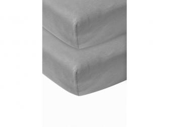 žerzejové prostěradlo 2-balení 60x120 grey