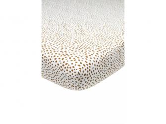 žerzejové prostěradlo 70x140/150 Cheetah camel