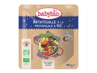 večerní menu ratatouille po provensálsku s rýží 190g