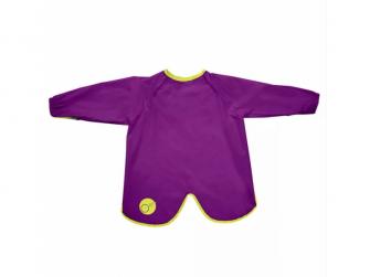 Bryndáček s rukávy - velký - fialový