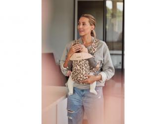 Nosítko MINI Leopard print cotton 5