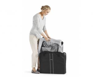 Postýlka cestovní Travel cot Easy go Anthracite mesh 2