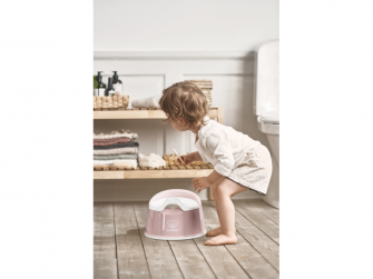 Nočník Smart  Powder Pink/White 2
