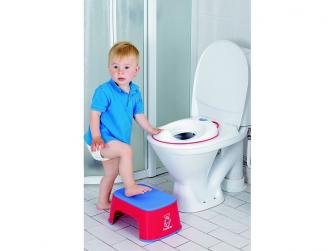 Adaptér na WC White/Bright Red 2