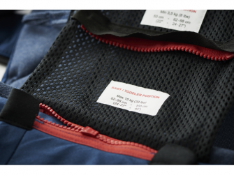 Ergonomické nosítko ONE Black Cotton 2018 6