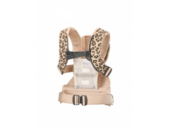 Ergonomické nosítko ONE Beige/Leopard Cotton 4