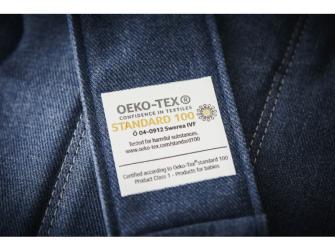 Ergonomické nosítko ONE Denim grey/Dark grey Cotton 2018 5
