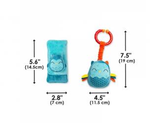 Chránič pásu Soft Wraps™ & Toy Owl 8