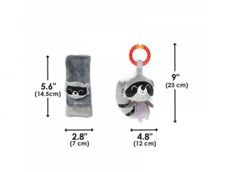 Chránič pásu Soft Wraps™ & Toy Racoon 8