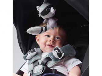 Chránič pásu Soft Wraps™ & Toy Racoon 9