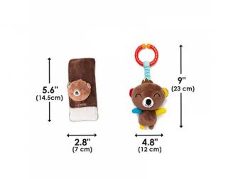Chránič pásu Soft Wraps™ & Toy Bear 8