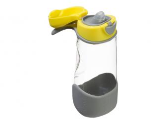 Sport láhev na pití - žlutá 2