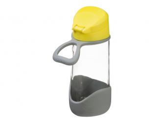 Sport láhev na pití - žlutá 3
