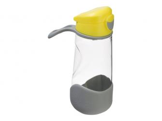 Sport láhev na pití - žlutá 4