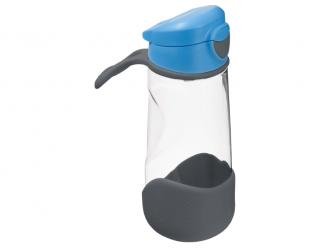 Sport láhev na pití - modrá/šedá 3