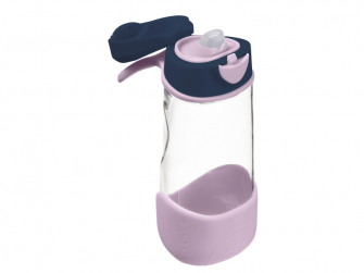 Sport láhev na pití - indigo/růžová 2