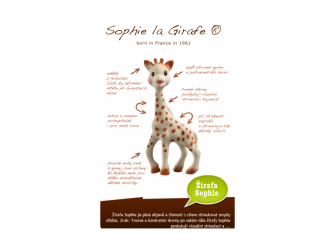 Žirafa Sophie (dárkový box) 5