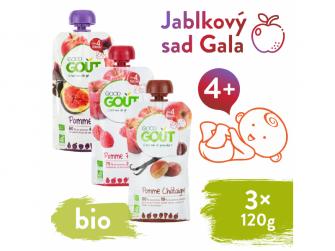 BIO variace kapsiček Jablkový sad Gala (3x120 g)
