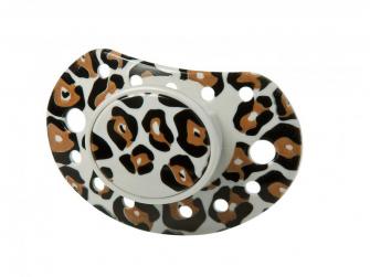Dudlík Design by Voksi Pacifier going leopard