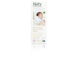 Sáčky na plenky Nature Babycare bez vůně (50 ks)