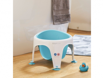 Koupací sedák - Bath Support Seat - aqua modrá 2