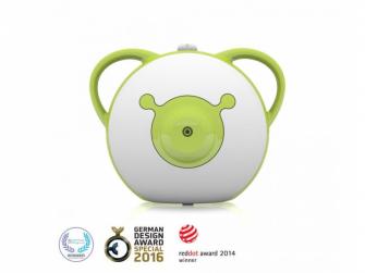 Nosiboo Pro Nasal Aspirator - odsávačka nosní motorová - zelená 2