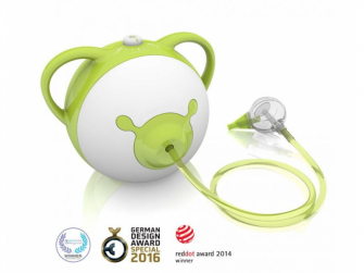 Nosiboo Pro Nasal Aspirator - odsávačka nosní motorová - zelená