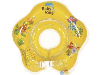 Baby ring 0.24 měs. žlutá