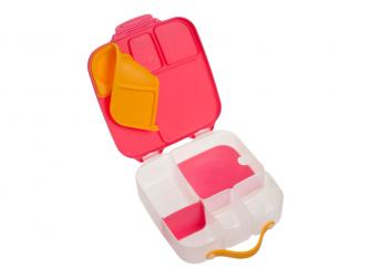 Svačinový box - růžový 3