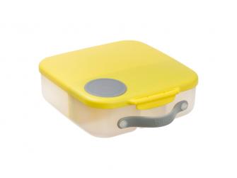 Svačinový box - žlutý